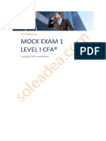 Soleadea Mock Exam 1 Level i Cfa 130106103558 Phpapp02