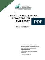 Guevara_Ramos_S3_TI3_Mis Consejos Para Redactar en La Empresa