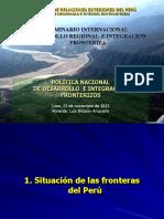 5.LaPoliticaNacionalDesarrolloIntegracionFronteriza Sr.luisBriceño