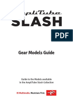 AmpliTube Slash Gear Models