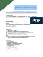 Analisis de La Rentabilidad de La Empresa