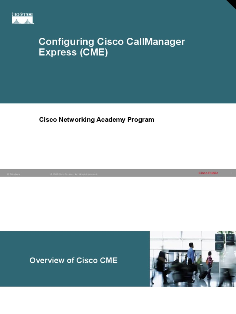 3 Configuring-Cisco-CME ppt | Ip Address | Voice Over Ip