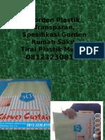 Gorden Plastik Transparan,Spesifikasi Gorden Rumah Sakit,Tirai Plastik Murah,081232308116