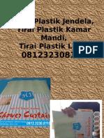 Tirai Plastik Jendela,Tirai Plastik Kamar Mandi,Tirai Plastik Lucu,081232308116