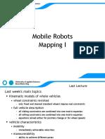 MAS Mobile Robots Mapping 1