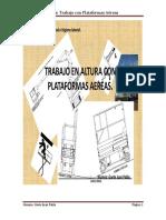 Tesis Gaete Juan Pablo, Trabajo en Altura Con Plataformas Aereas