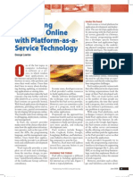 Developing Software Online with Platform-as-a-Service Technology