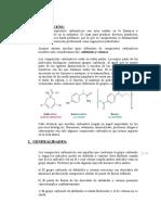 Compuestos Carbonílicos. Haluros de Alquilo.