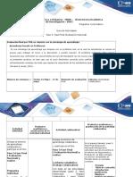 Guía de Actividadse y Rúbrica de Evaluación-Paso 5 - Fase Final ( Evaluación Nacional)