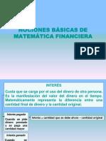 Laminas de Nociones Basicas de MatemáTica Financiera