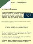 Etica Moral y Corrupcion
