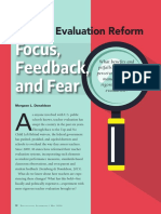 teacher evaluation reform by morgaen donaldson