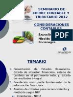 Quantum Seminario Contable Tributario Enero 2013.ppt