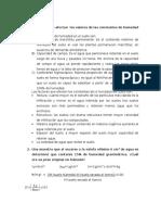 Cuestionario AGUA DEL SUELO