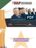 INTERPRETACION CONSTITUCIONAL.3