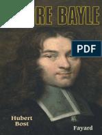 Det_pierre Bayle - Hubert Bost