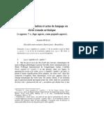 Ruelle, Annette sobre enunciaión y derecho romano.pdf