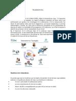 Tele Medicina INGENIERIA DE TELECOMUNICACIONES