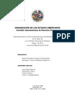 Comision IDH Solicitud de Demanda Almonacid