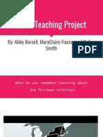 mock teaching