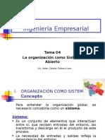 IEM TEMA 04 Organizacion Como Sistema Abierto (1)