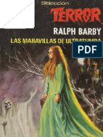 Seleccion Terror 365 - Barby, Ralph - Las Maravillas de Ultratumba