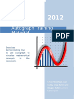 Autograph Training Material 2012