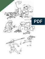 Dibujos de La Prehistoria