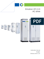 Emotron VFX2-0 Manual