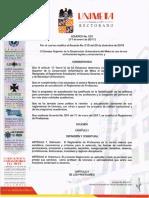 Acuerdo 001 de 2017 - Actualizacion Reglamento Profesores