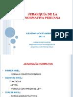 Jerarquia de La Normativa Peruana