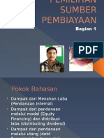 Pemilihan Sumber Pembiayaan (1) Ppt