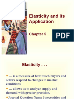 Chap 05 Elasticity