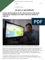 Rede Globo _ Globo Educação - Jogos Contribuem Para o Aprendizado