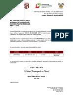 Invitaciones Sem. Ing. Civil UPT-R-179-2017