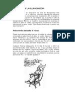 Evolucion de La Silla de Ruedas