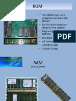 RAM & Processor Slots