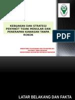 Kebijakan PTM Dan KTR Pemanfaatan Pajak Rokok Untuk Kabkota 2016