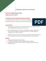 curriculum mini lesson plan