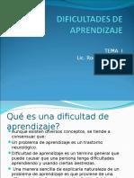 Tema_1 Dificultades de Aprendizaje