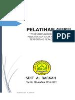 Tor Pelatihan Guru Sdit Al Barkah (Resbang)(1)