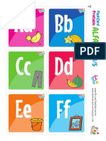 Alfabet -- Flashcard