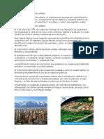 Desarrollo y Planificación Urbana