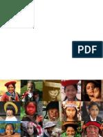 Rostros Del Peru -Afiche