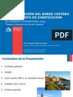 Ádministracion Del Borde Costero e Instrumento de Zonificacion