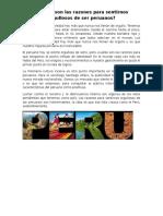 Cuales Son Las Razones Para Sentirnos Orgullosos de Ser Peruanos