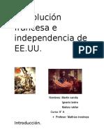 Revolución Francesa e Independencia de EE