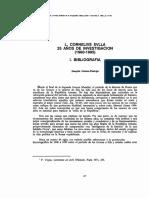 L. CORNELIVS SVLA. 25 Años de La Investigación (1960-1985). I. Bibliografía (Joaquín Gómez-Pantoja)