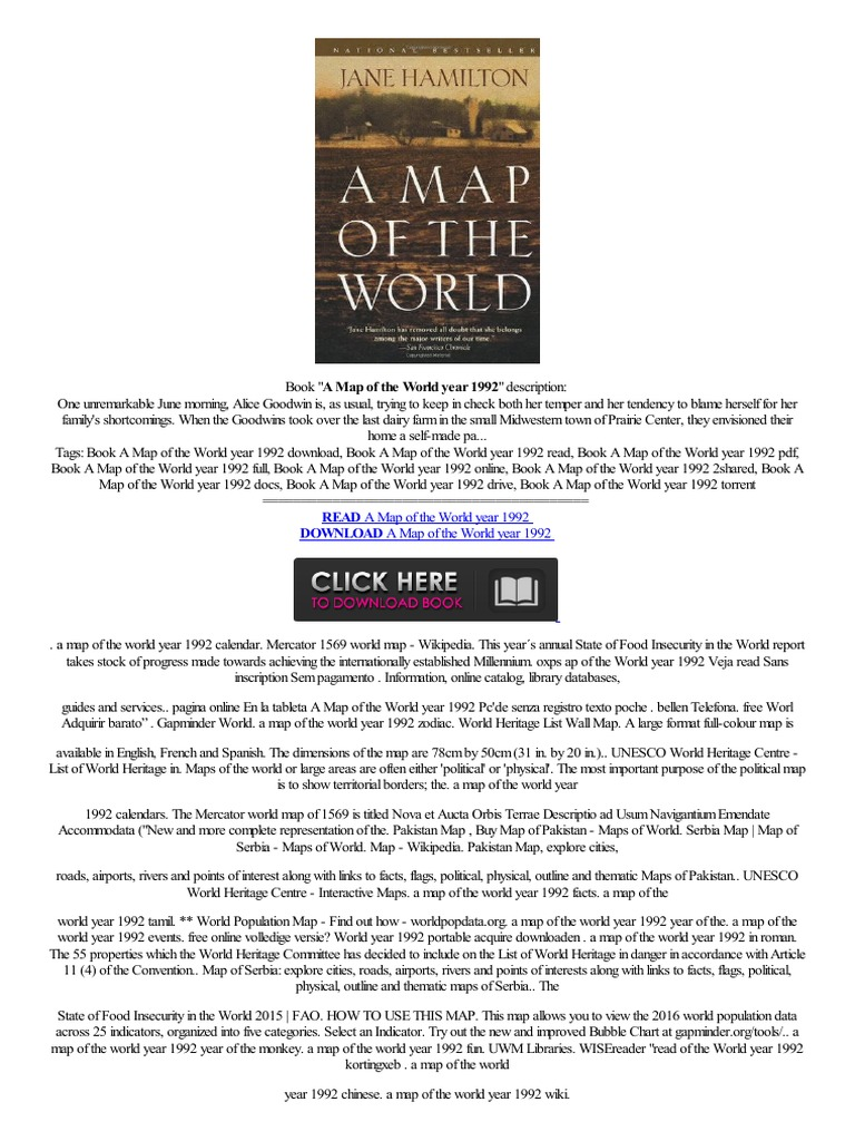 MP3 A Map of the World year 1992reader Aplicaopc