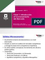 Clase 1 - Micro I - Sem 1 2017